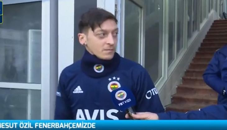Canlı İzle | Mesut Özil, Fenerbahçe ile ilk antrenmanında!