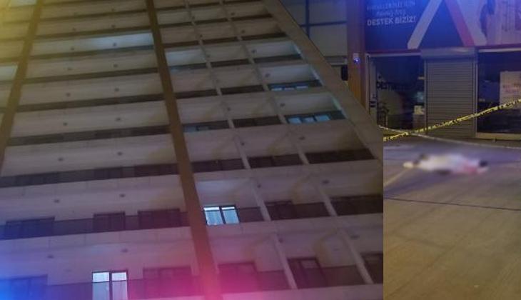 İstanbul Esenyurt'ta korkunç olay! Genç kız otelin 8'inci katından düştü