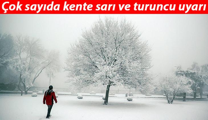 İstanbul'da kar ne zaman başlayacak? Meteoroloji İstanbul'da kar yağışı için saat verdi