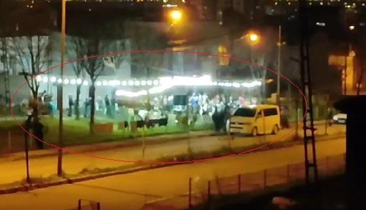 Bursa'da yasağa rağmen skandal görüntü!