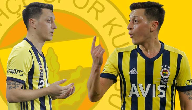 İşte Fenerbahçe'de Mesut Özil'in Galatasaray derbisi performansı