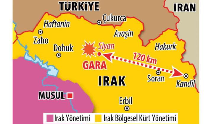 Gara bölgesi nerede, hangi ülkede, neden önemli? Pençe Kartal-2 Harekatı'nın yapıldığı Gara bölgesinin konumu