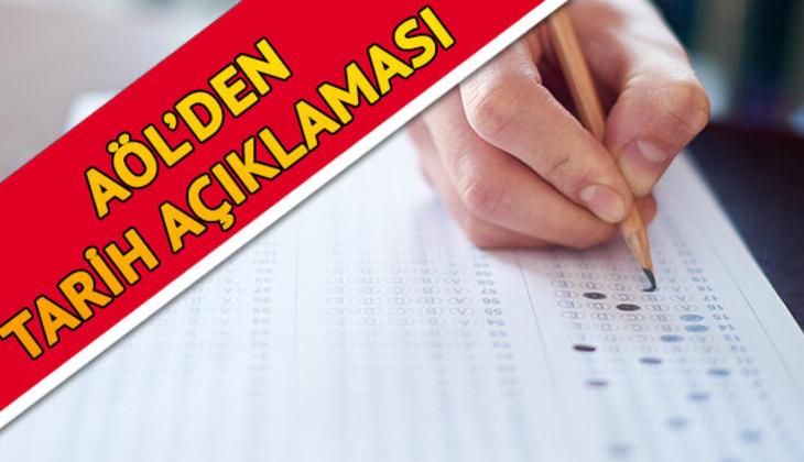 AÖL 1. Dönem sınavları ile ilgili yeni açıklama - Açık Öğretim Lisesi sınavları nasıl yapılacak?