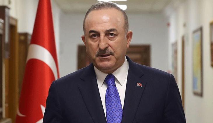 Son dakika: Bakan Çavuşoğlu'ndan sert açıklama: 'Eğer' ve 'ama'larla geçiştirmeye çalışıyorlar