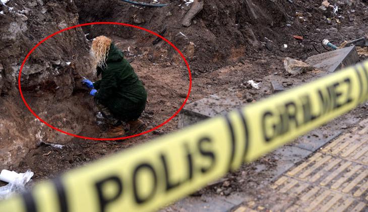 Yer Ankara... Hemen çalışmayı durdurdular! Kemik parçaları bulundu