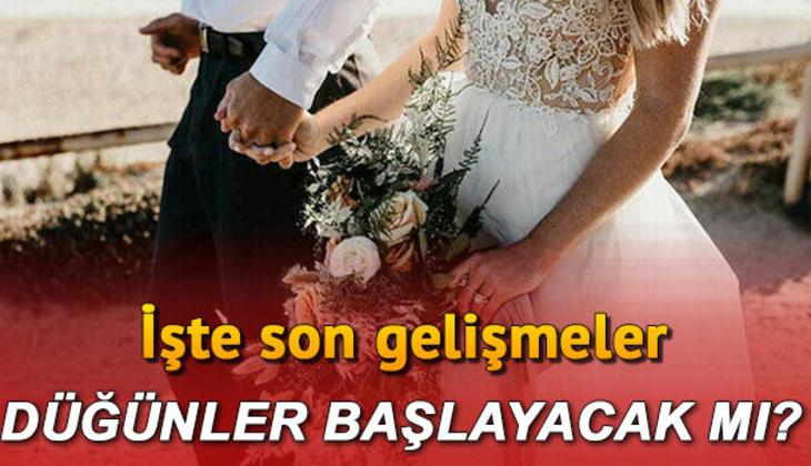 Düğün salonları açılacak mı, ne zaman açılacak? Düğünlerde 'gizli davetli'ler dönemi için yeni hazırlık