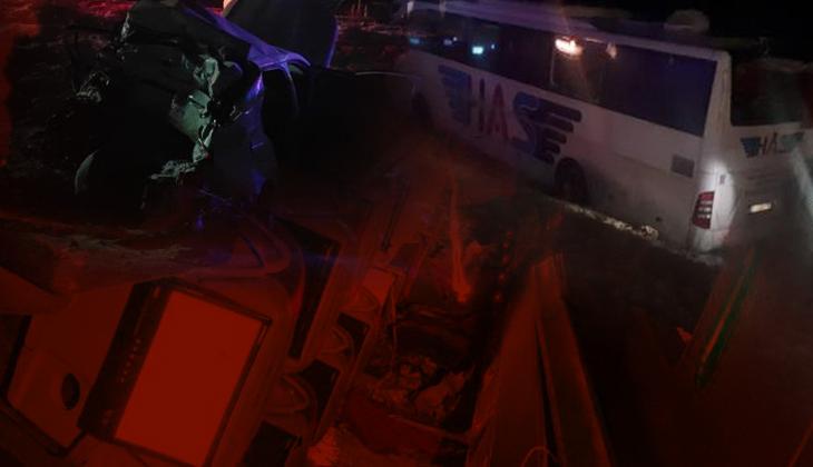 Son dakika... Konya'da korkunç kaza! Yolcu otobüsü şarampole devrildi... 5 ölü, 38 yaralı