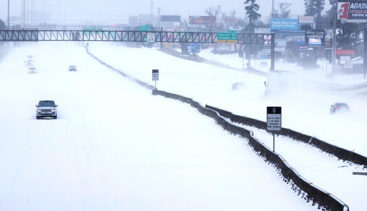 Teksas'ta kış fırtınası can aldı: 11 ölü