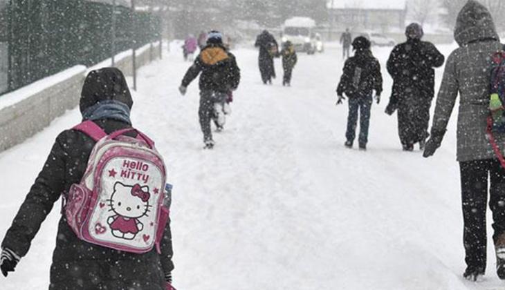 Son dakika haberi: Yüz yüze eğitime kar engeli! İşte ara verilen iller