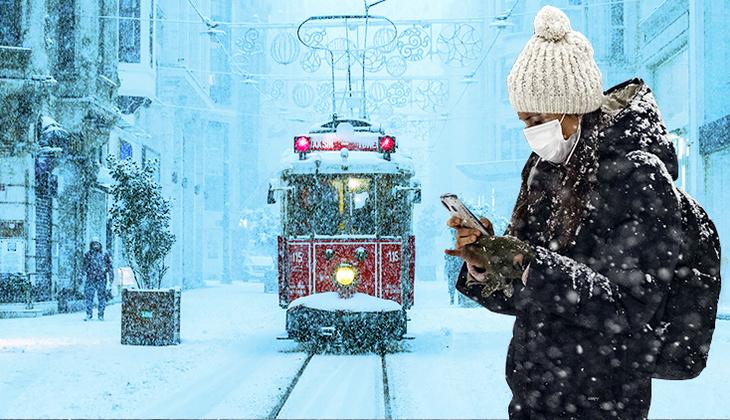 Meteoroloji'den son dakika İstanbul açıklaması! Kar yağışı ne zaman bitiyor?