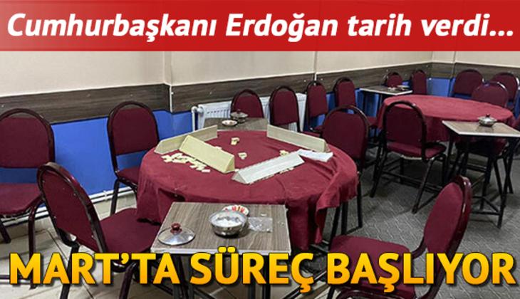 Kıraathaneler ne zaman açılıyor? Cumhurbaşkanı Erdoğan'dan kahvehaneler için normalleşme mesajı