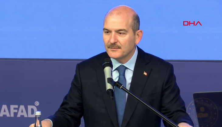 Son dakika: İçişleri Bakanı Soylu: İmkansızı başarmanın mutluluğu içindeyim