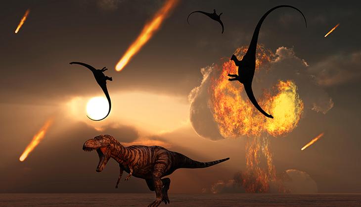 Dinozorların ölümünün sebebi 'kuyruklu yıldızlar' mı?