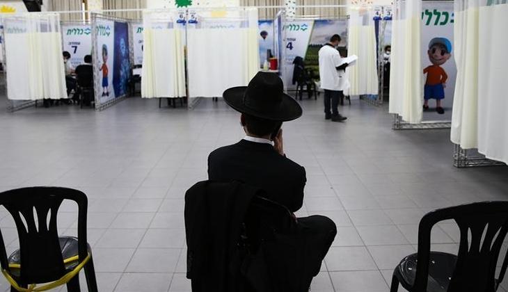 İsrail'in 'Vuhan'ında aşı çalışmaları devam ediyor.