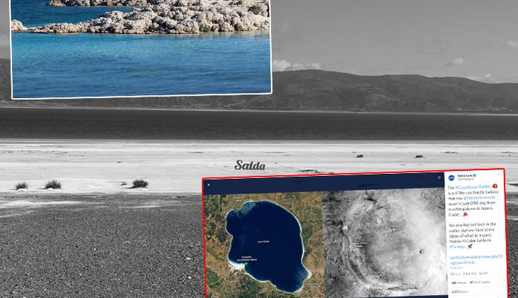 Salda Gölü'nde çarpıcı araştırma... 'Mars'ın geçmişi ciddi bir biçimde aydınlanacak'