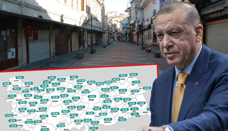 Cumhurbaşkanı Erdoğan duyurmuştu! Bartın'da kademeli normalleşme süreci kararları alındı