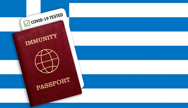 """Son dakika haberler... Yunanistan """"aşı sertifikası"""" dağıtmaya başladı"""