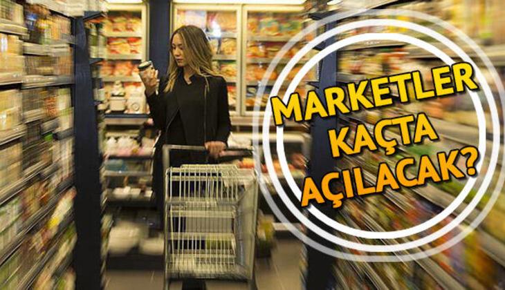 Marketler saat kaçta açılıyor? 20-21 Şubat hafta sonu marketlerin açılış ve kapanış saati