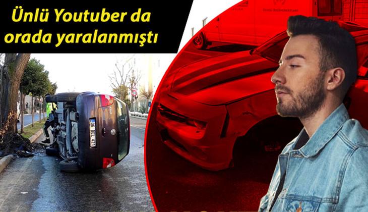 İstanbul'da iki ilginç kaza! Enes Batur da orada yaralanmıştı...