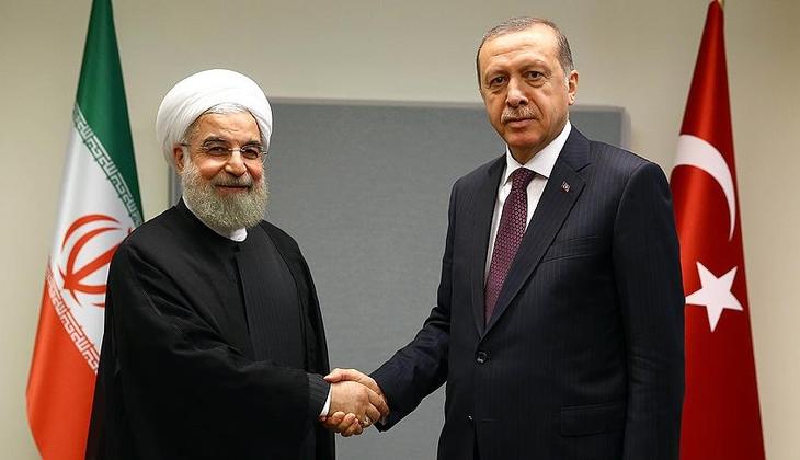 Son dakika haberi: Cumhurbaşkanı Erdoğan, İran Cumhurbaşkanı Ruhani ile görüştü