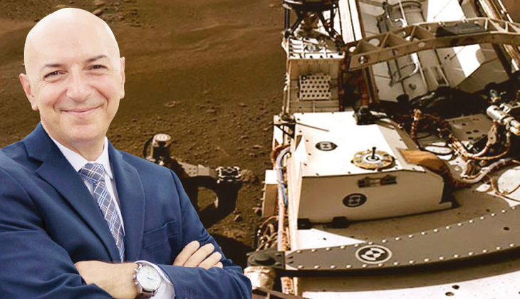 Mars'taki Azim'e Türk katkısı