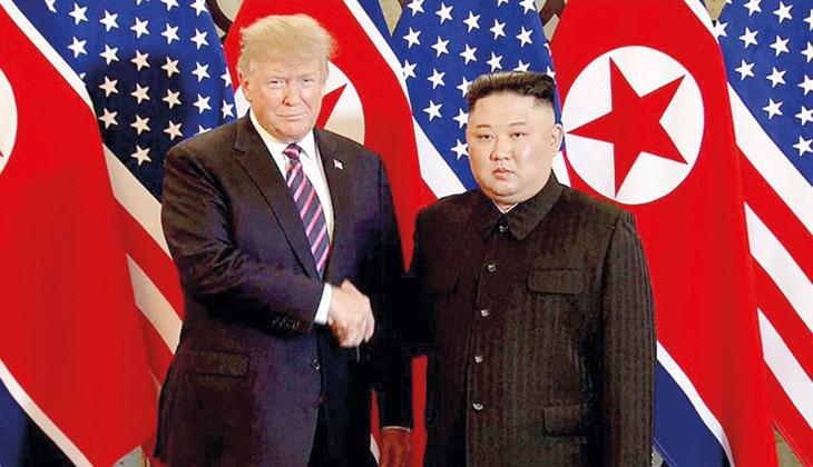 Trump'tan Kim'e ilginç teklif: Uçağımla seni Kore'ye bırakayım