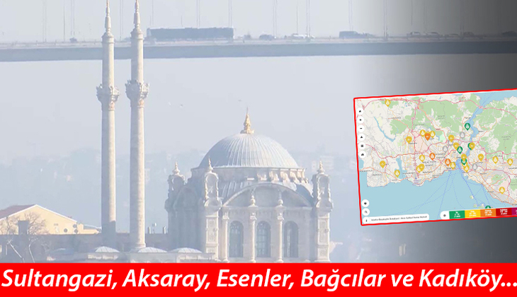 İstanbul'da krtik seviye ulaştı! Korkutan görüntü