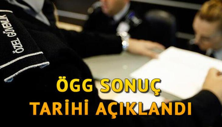 Özel güvenlik görevlisi sınav soruları yayımlandı! ÖGG sınav sonuçları için gözler Emniyet Genel Müdürlüğü'nde!