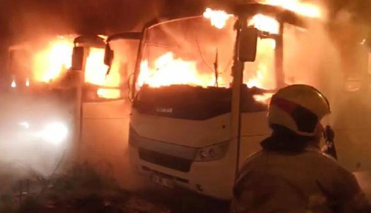 Bursa'da korku dolu anlar! Patlama sonrası alev topuna döndüler