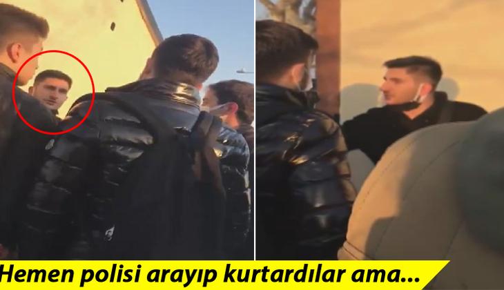 Kadıköy'de tepki çeken olay! Genç kızı elinden zor aldılar! Şikayetçi olmadı...