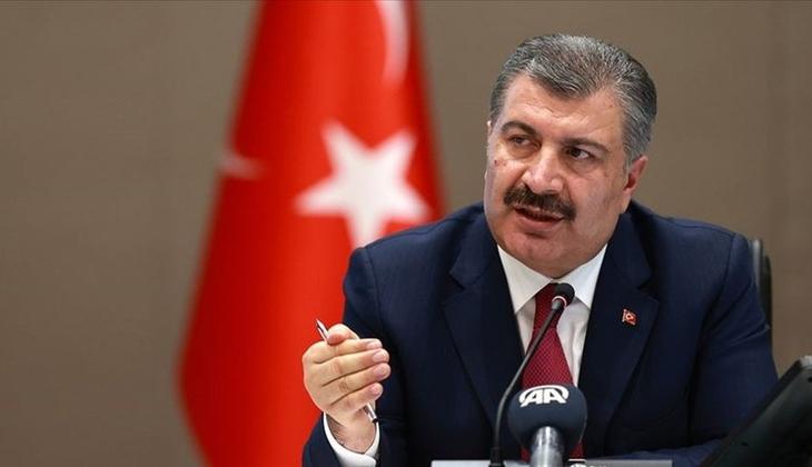 Son dakika haberi: Sağlık Bakanı Fahrettin Koca açıklama yapıyor
