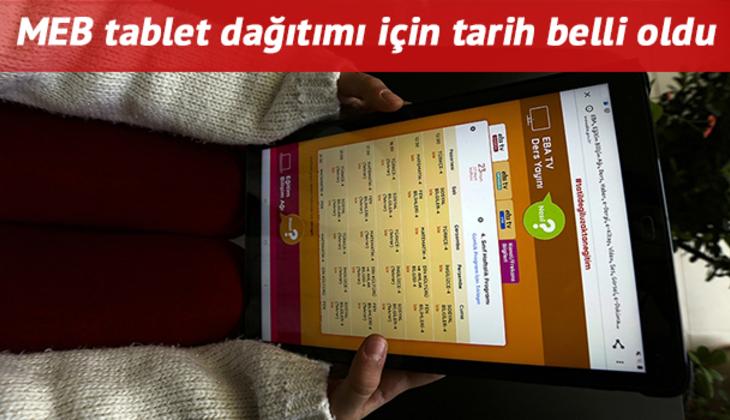 Tablet başvurusu nasıl yapılır? 8. fazda MEB ücretsiz tablet dağıtımının yapıldığı iller belli oldu!