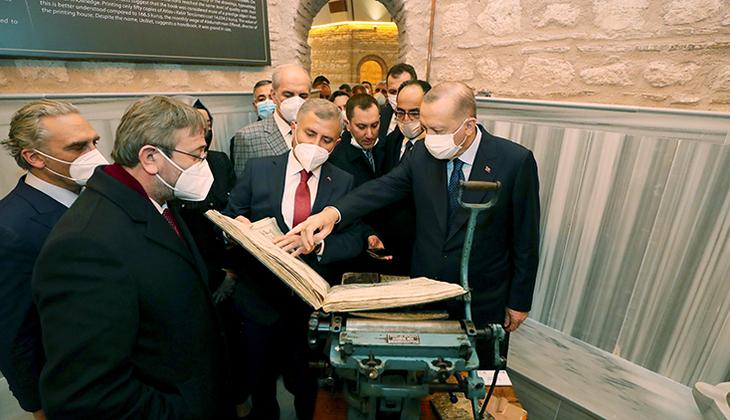 Cumhurbaşkanı Erdoğan, Üsküdar'da Nevmekan Selimiye'yi ziyaret etti