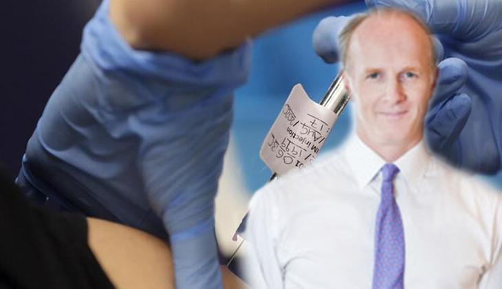 Aşı fırsatçılığı ortaya çıkınca istifa etti