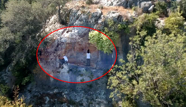 Mersin'de çok önemli keşif! 8 bin yıllık kaya resimleri...