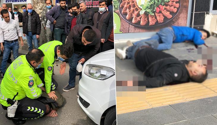 Siirt'te sokak ortasında dehşet!