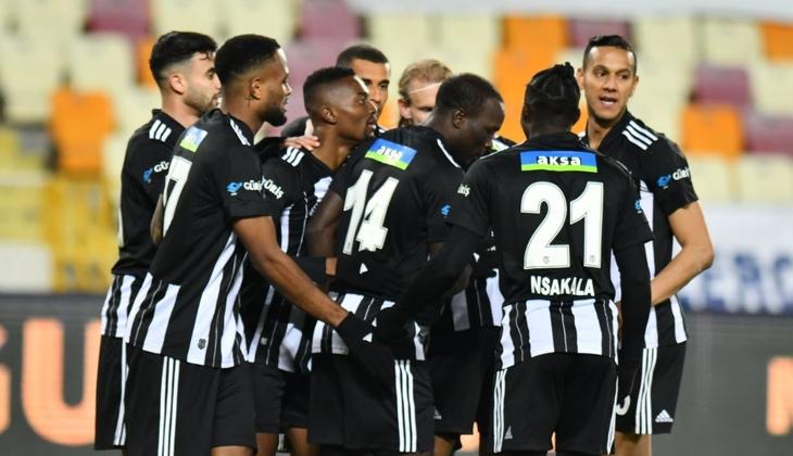Yeni Malatyaspor 0-1 Beşiktaş (Maçın golü ve özeti)