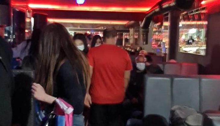 İzmir'de eğlence mekanlarına koronavirüs baskını!