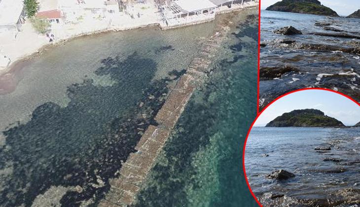 Bodrum'da deniz çekilince ortaya çıktı! 3 bin 500 yıllık tarihi kente gidiyor...