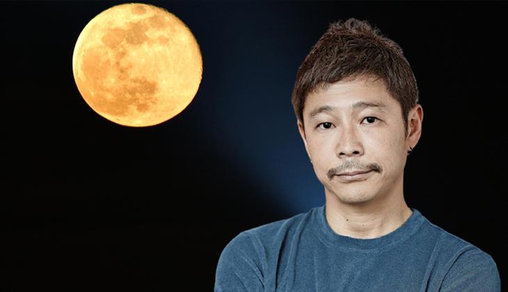 Japon milyarder Ay'a gidecek 8 gönüllü arıyor! Geçen sene hayat arkadaşını bulamamıştı