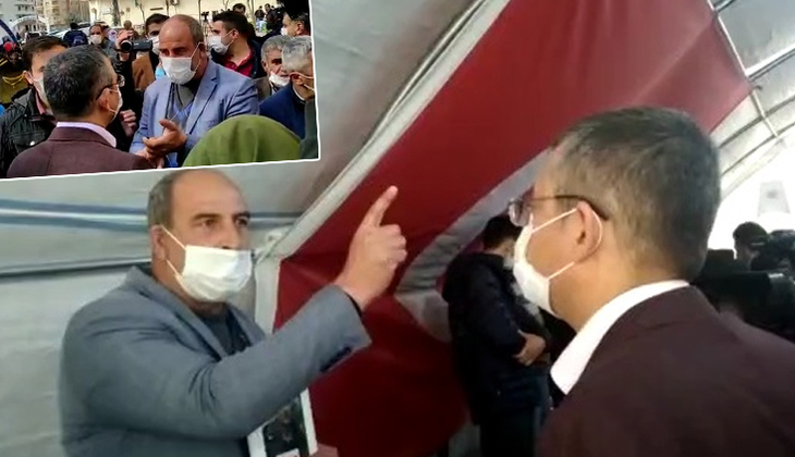 Diyarbakır'da evlat nöbetindeki aileler, CHP heyetine HDP'yi şikayet edip, 'Geç kaldınız' dedi