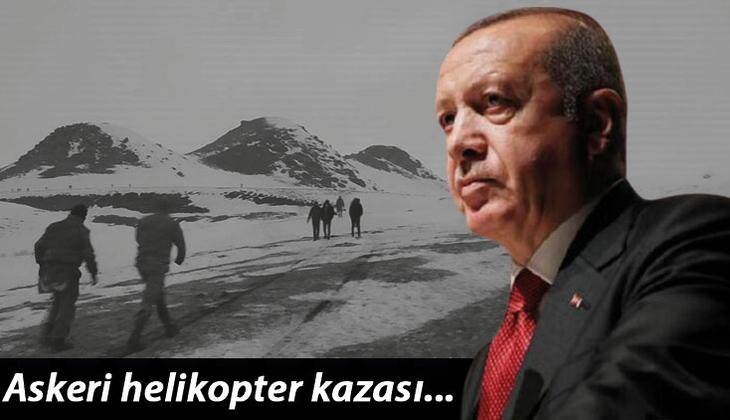 Son dakika haberi: Bitlis'teki askeri helikopter kazası... Cumhurbaşkanı Erdoğan şehit Erbaş'ın oğluna taziyelerini iletti