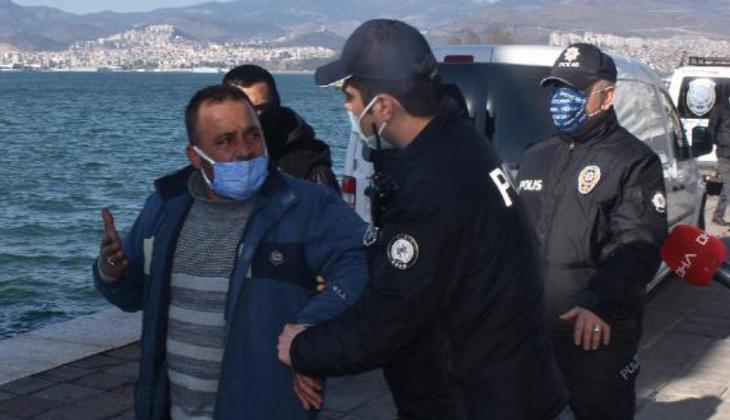 İzmir polisinden 6 ay sonra değnekçilere ikinci operasyon! Gazetecilere şok tepki
