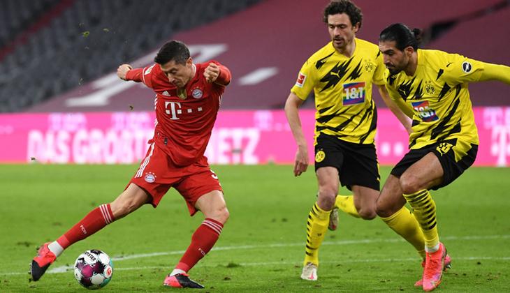 Bayern Münih'ten harika geri dönüş! Borussia Dortmund'a gol yağdırdı
