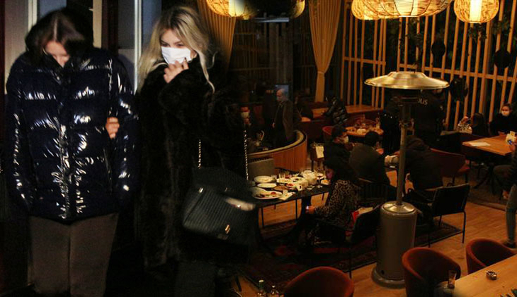 Nişantaşı'ndaki ünlü restorana koronavirüs baskını! 100 kişiye ceza kesildi