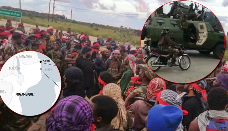 Son dakika haberler: DEAŞ Mozambik'in Palma kasabasını ele geçirdi: Portekiz bölgeye 60 kişilik birlik gönderiyor!