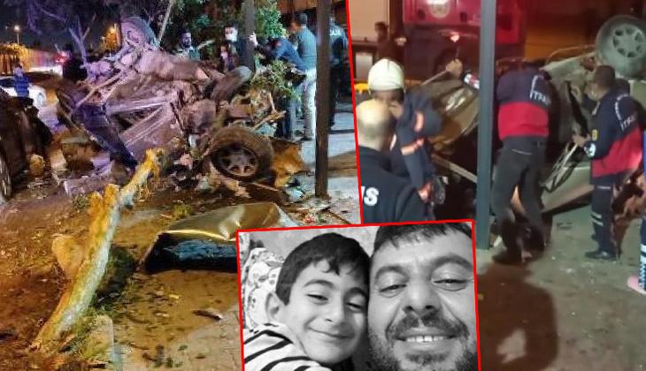 Mersin'de feci kaza! Ortalık savaş alanına döndü: Baba-oğuldan acı haber