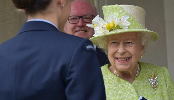 2'inci Kraliçe Elizabeth, ırkçılık suçlamalarının ardından ilk kez görüntülendi