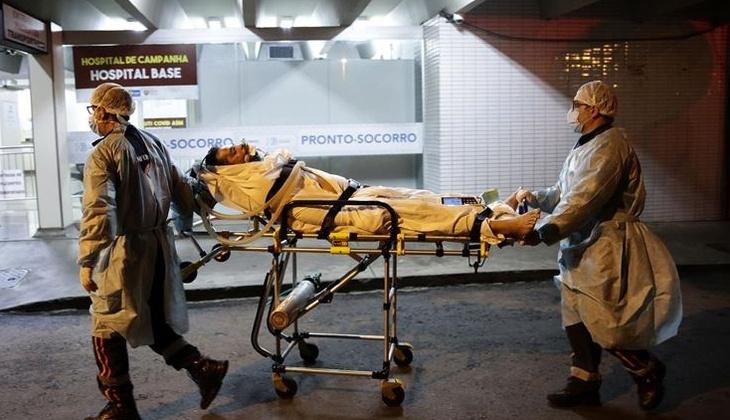 Brezilya'da bir günde 3 bin 869 kişi kovid-19 nedeniyle hayatını kaybetti