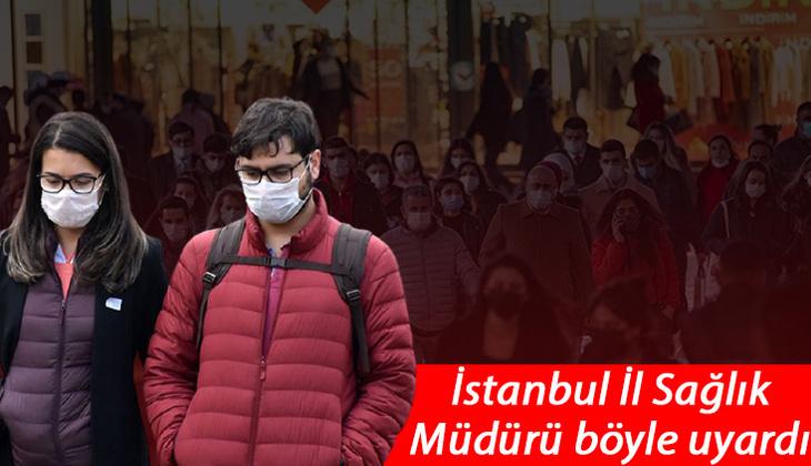 İstanbul İl Sağlık Müdürü Memişoğlu'ndan korkutan sözler: Üçüncü piki yaşıyoruz!
